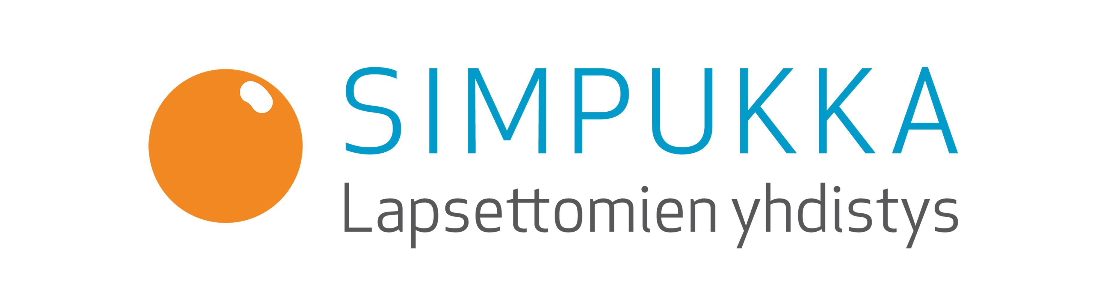 Lapsettomien yhdistys Simpukka ry-logo